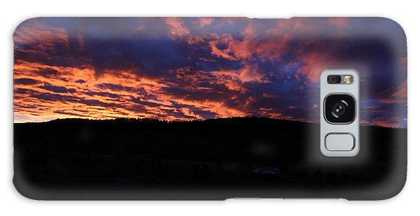 Galaxy Case featuring the photograph Red Dawn by Ann E Robson