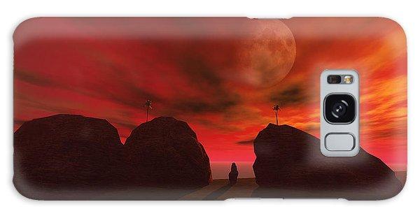 Red Dawn Galaxy Case