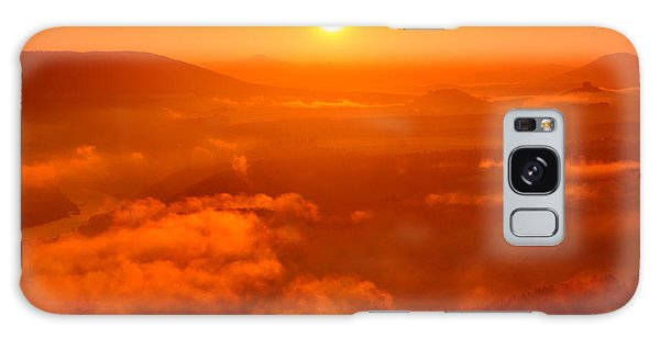 Red Dawn On The Lilienstein Galaxy Case
