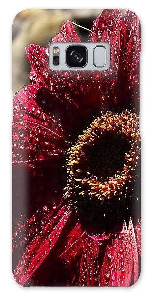 Red Dew Galaxy Case by Joe Schofield