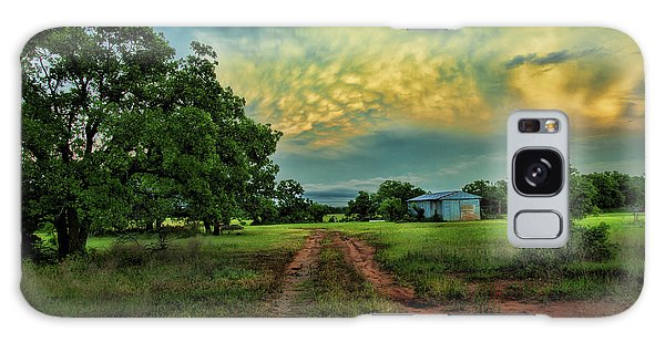 Red Dirt Road Galaxy Case