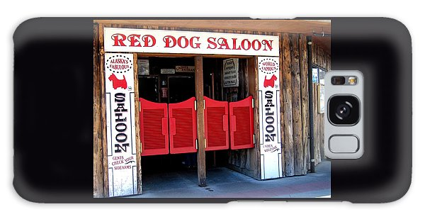 Red Dog Saloon Juneau Galaxy Case