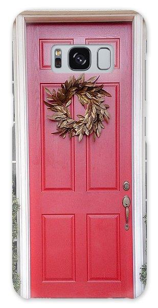 Red Door Galaxy Case