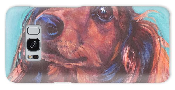 Red Doxie Galaxy Case