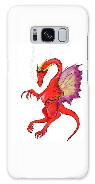 Red Dragon Galaxy Case