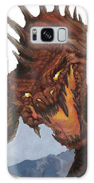 Dungeon Galaxy Case - Red Dragon by Matt Kedzierski