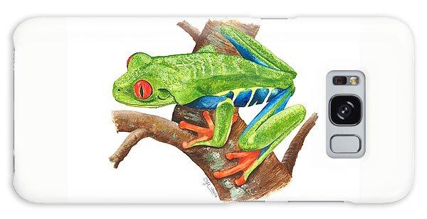 Red-eyed Treefrog Galaxy Case