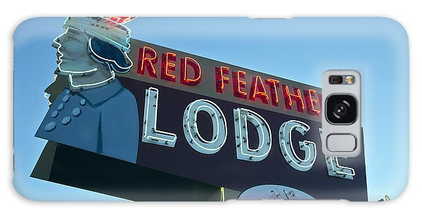 Red Feather Lodge Galaxy Case