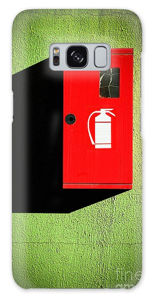 Red Fire Extinguisher Box Galaxy Case