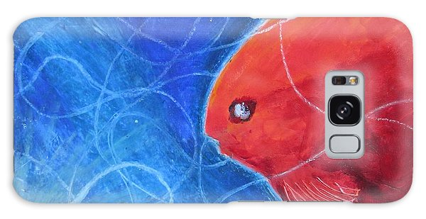 Red Fish Galaxy Case