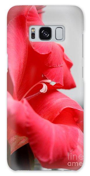 Lady In Red Galaxy Case by Patti Whitten