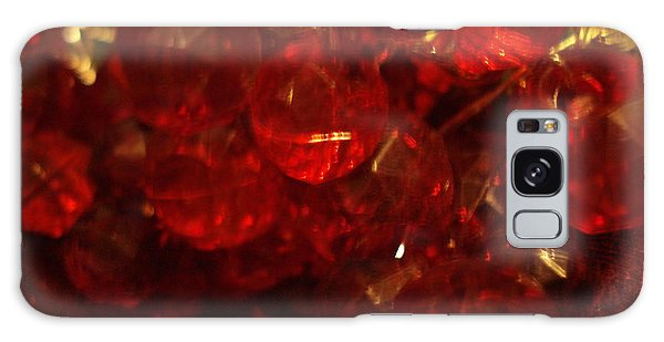 Red Glass Grapes Galaxy Case