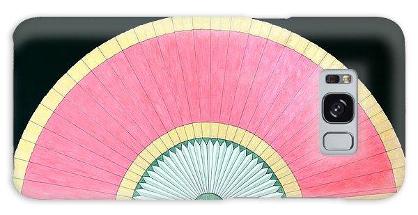 Red Gold Fan Galaxy Case by Thomas Gronowski