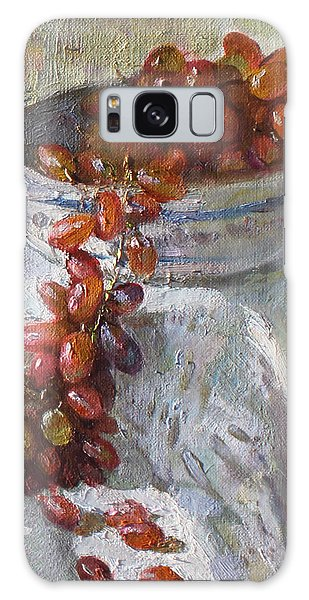 Grape Galaxy Case - Red Grapes by Ylli Haruni
