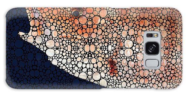 Bradenton Galaxy Case - Red Grouper Fish - Florida Art By Sharon Cummings by Sharon Cummings