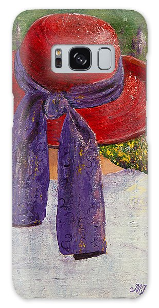 Red Hat Garden Galaxy Case by Margaret Bobb
