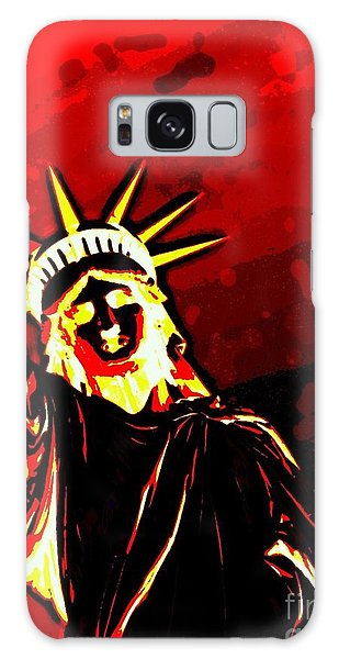 Red Hot Liberty Galaxy Case