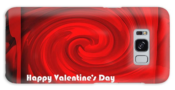 Red Hot Valentine Galaxy Case by Cheryl McClure
