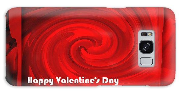 Red Hot Valentine Galaxy Case