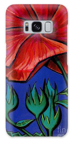 Red Ibiscus - Botanical Galaxy Case