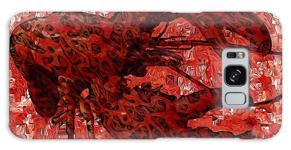 Chela Galaxy Case - Red Lobster 1 by Jack Zulli