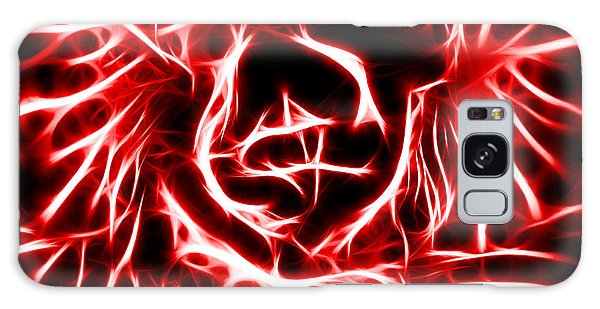 Red Lettuce Galaxy Case