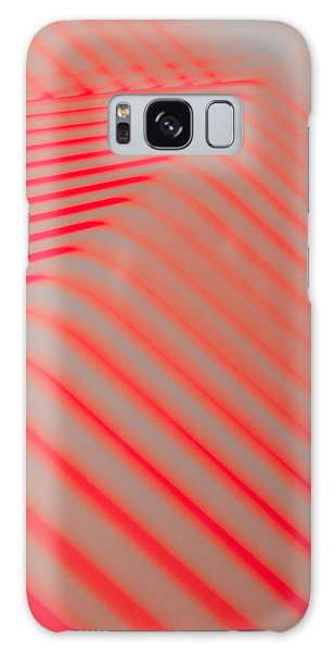 Red Lines Galaxy Case