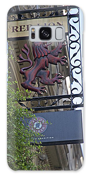 Red Lion Pub Galaxy Case by Cheri Randolph