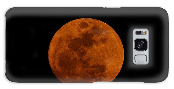 Red Moon Galaxy Case