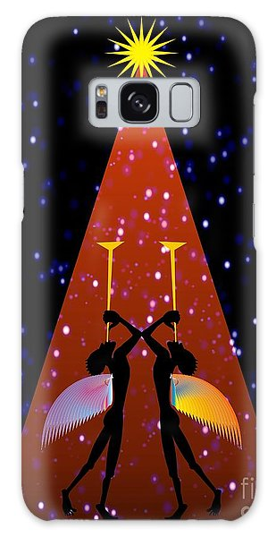 Red Noel  Galaxy Case