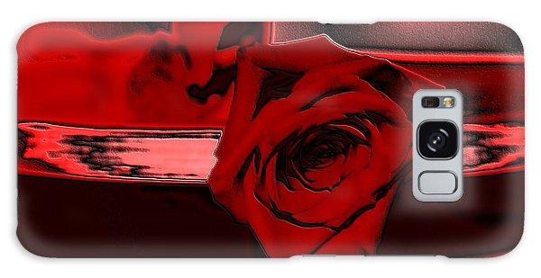 Red Passion. Rose Galaxy Case by Oksana Semenchenko