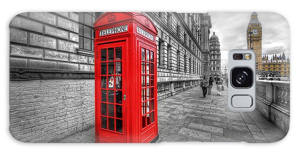 Red Phone Box And Big Ben Galaxy Case