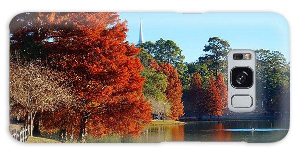 Red Pine On Lake Ella Galaxy Case