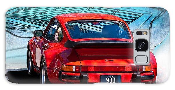 Red Porsche 930 Turbo Galaxy Case