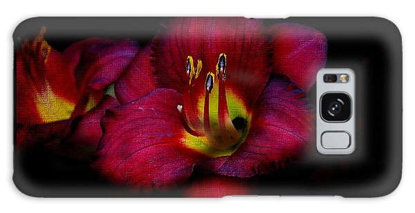 Red Red Lily Galaxy Case
