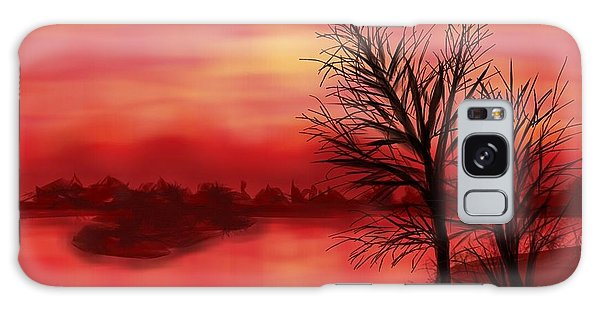 Red River Galaxy Case by Judy Via-Wolff