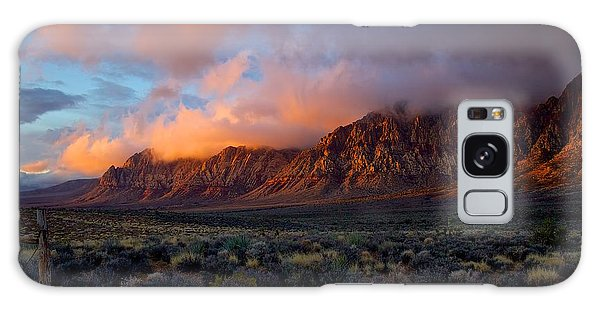 Red Rock Canyon National Conservation Area Las Vegas Galaxy Case by Michael Rogers