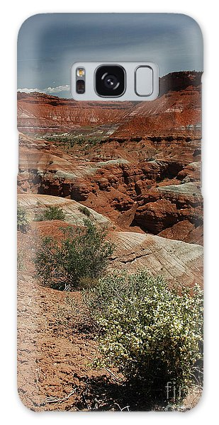801a Red Rock Formations Galaxy Case