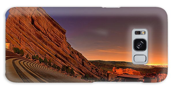 Evening Galaxy Case - Red Rocks Amphitheatre At Night by James O Thompson