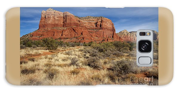 Red Rocks Of Sedona Galaxy Case