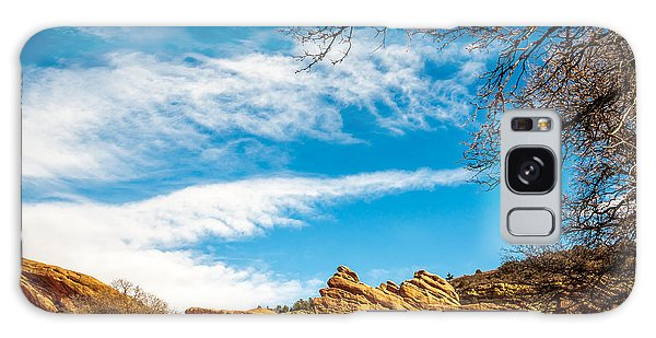 Red Rocks View 001 Galaxy Case by Todd Soderstrom