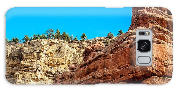 Red Rocks View 002 Galaxy Case