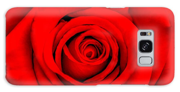 Calendar Galaxy Case - Red Rose 1 by Az Jackson