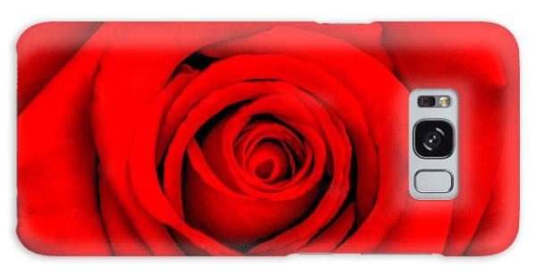 March Galaxy Case - Red Rose 1 by Az Jackson