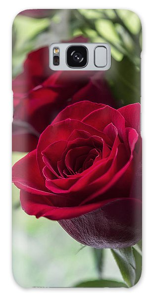 Red Rose Galaxy Case by Ian Mitchell