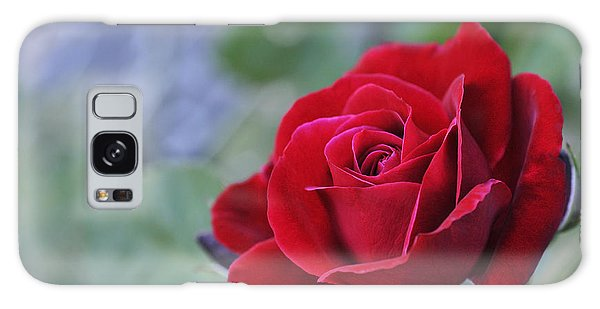 Red Rose Light Galaxy Case