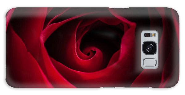 Red Rose Square Galaxy Case