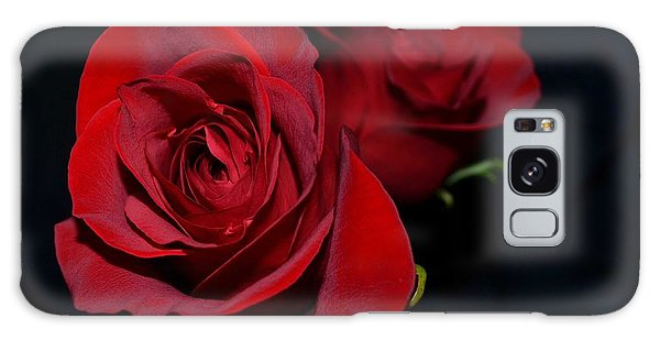 Red Roses For A Blue Lady Galaxy Case