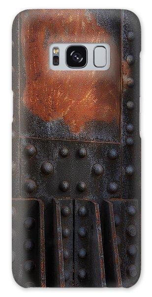 Red Rust Rivets Galaxy Case