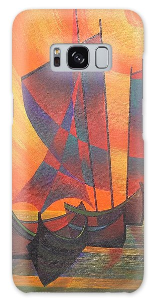 Red Sails In The Sunset Galaxy Case